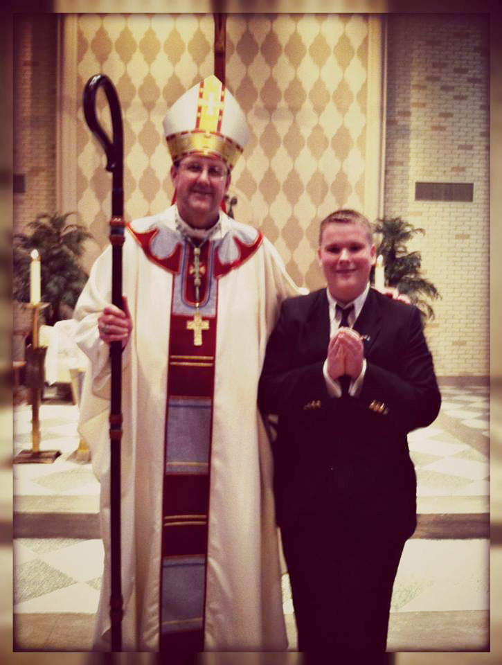 Christopher Will Join Seminary 2015