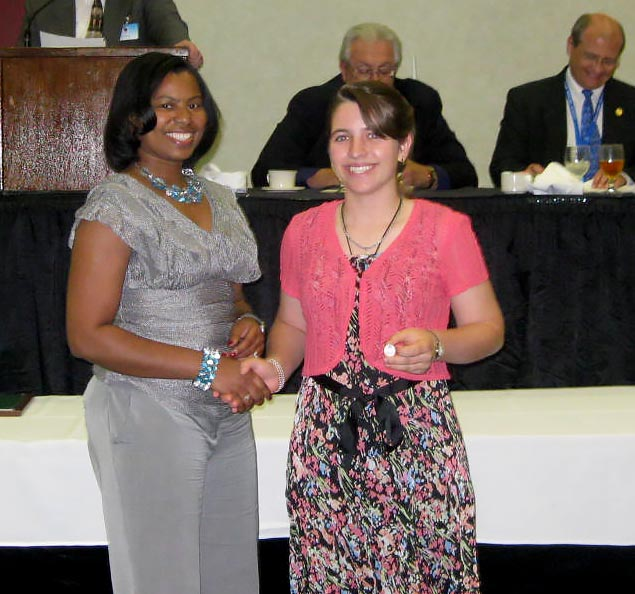 Rachel Receives 4H Mock Legislature Award