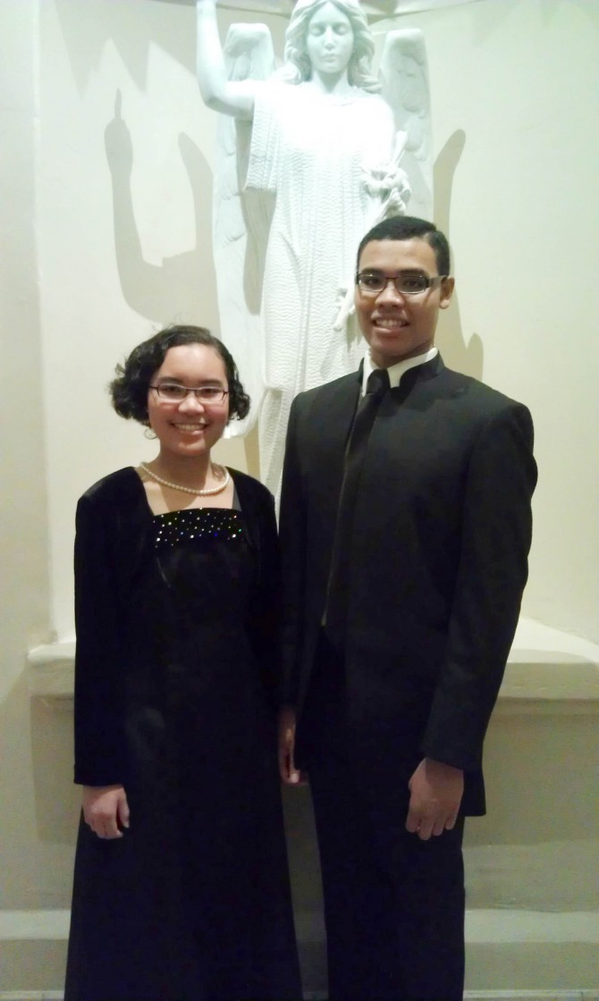 Former Seton Students Sing at Pope Benedict's Last Epiphany Mass