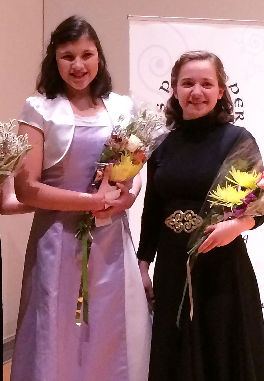 Katarina Wins 2nd Place at Local Singing Competition