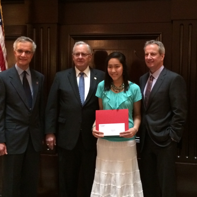 Karenna Wins 2nd Place in Ohio Student Essay Contest