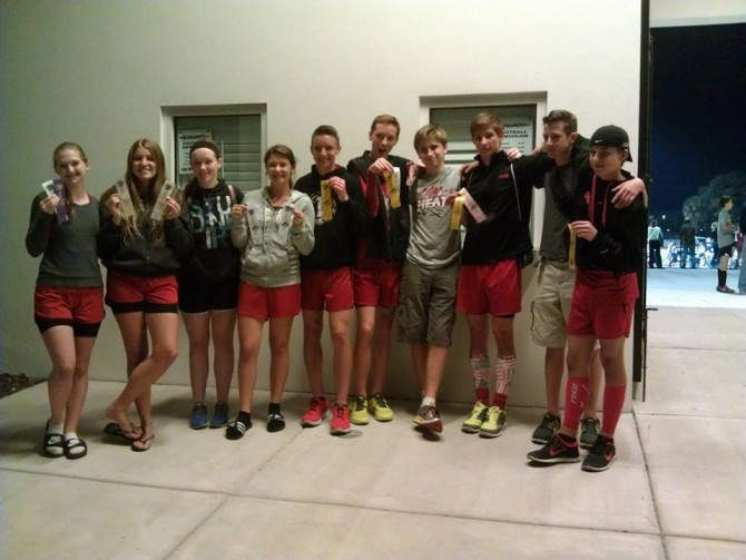 Teresa's Relay Team Makes Regionals