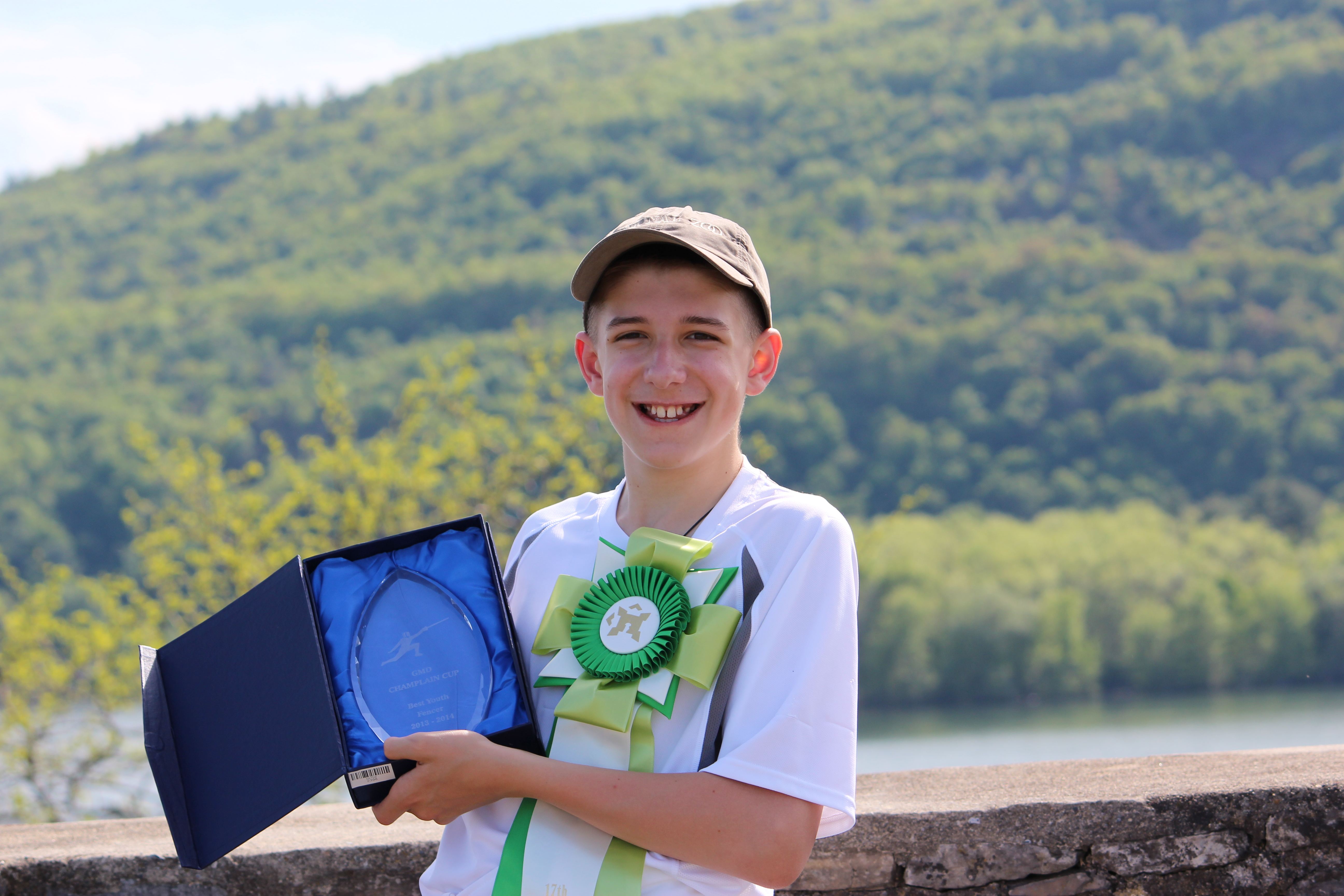 Ryan Awarded Best Youth Fencer 2013-14 Season