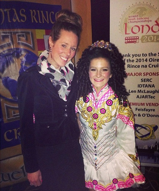 Isabel Competes At Irish Dancing World Championships, England