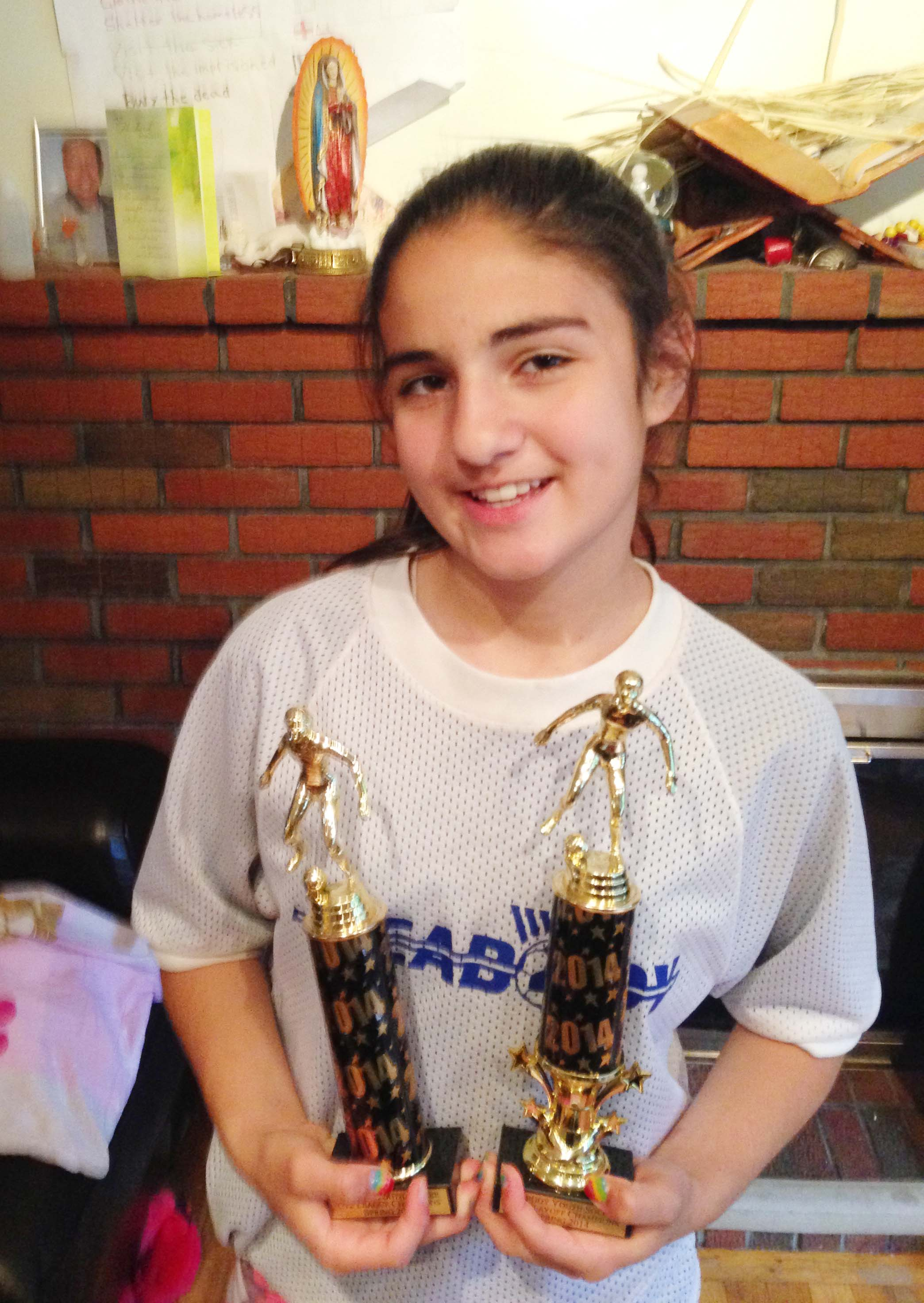 Chiara Makes Soccer Travel Team