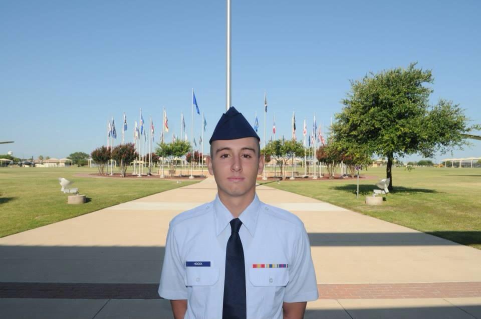 Joshua Graduates Top 10% in USAF