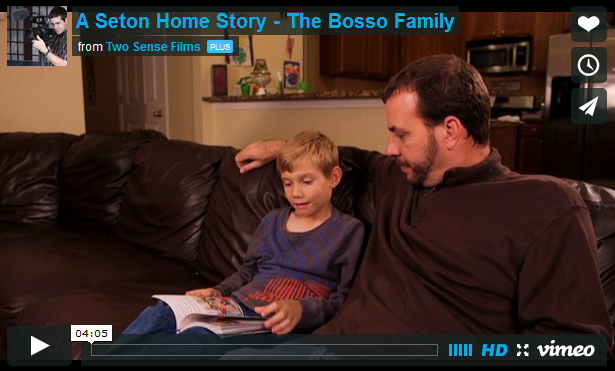 Bosso Family Featured in Homeschooling Video