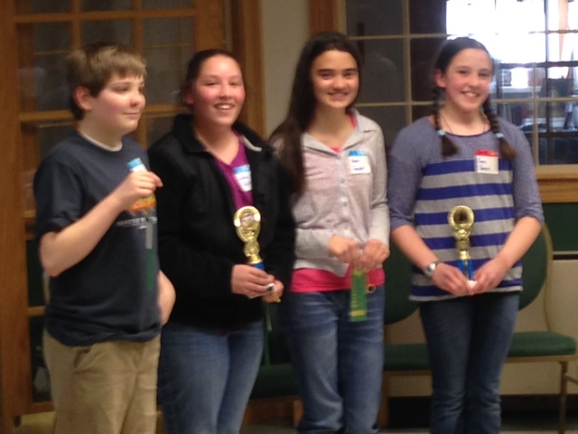 Kateri Wins CHIME Spelling Bee