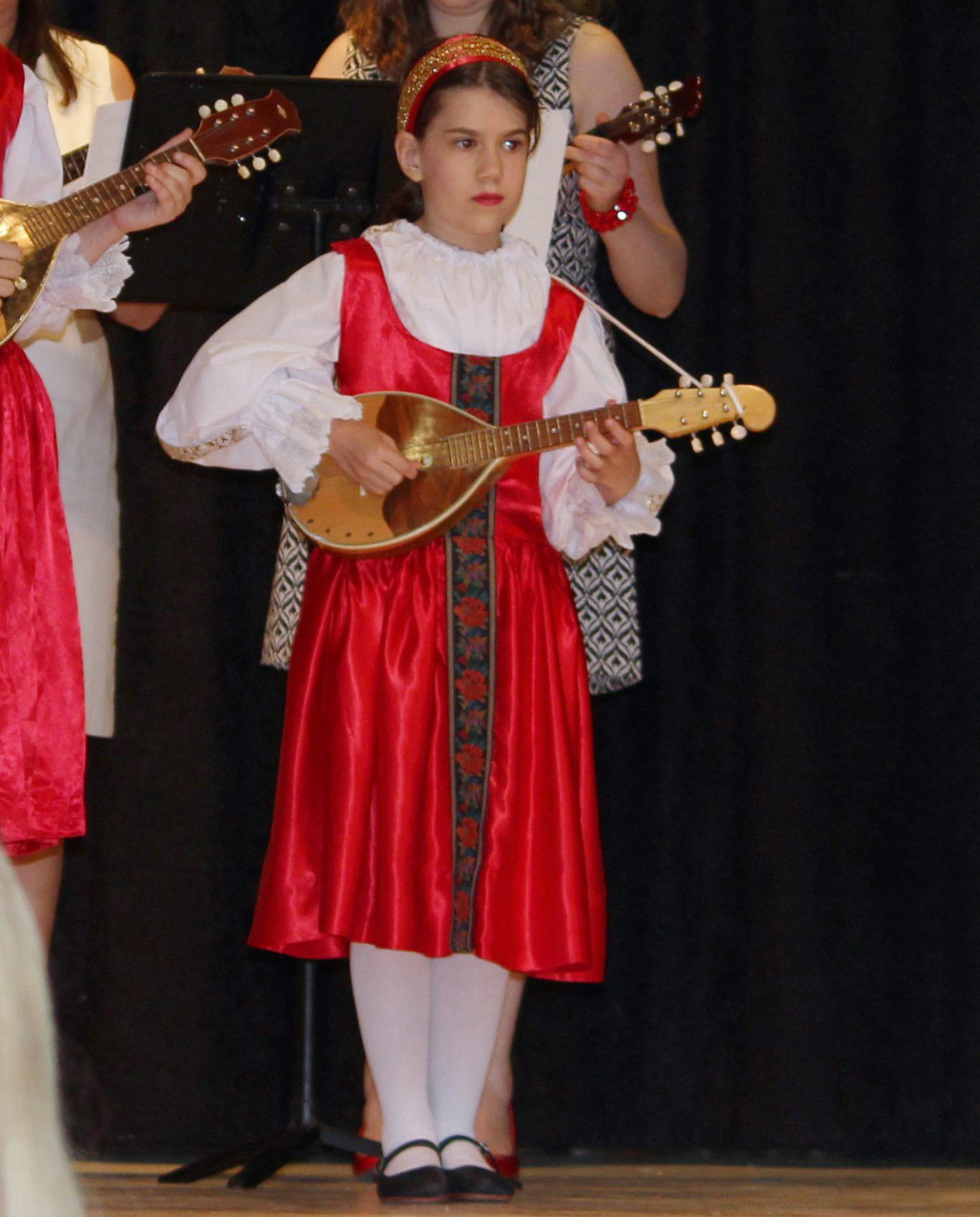 Silvana Plays in Tamburitzan Concert