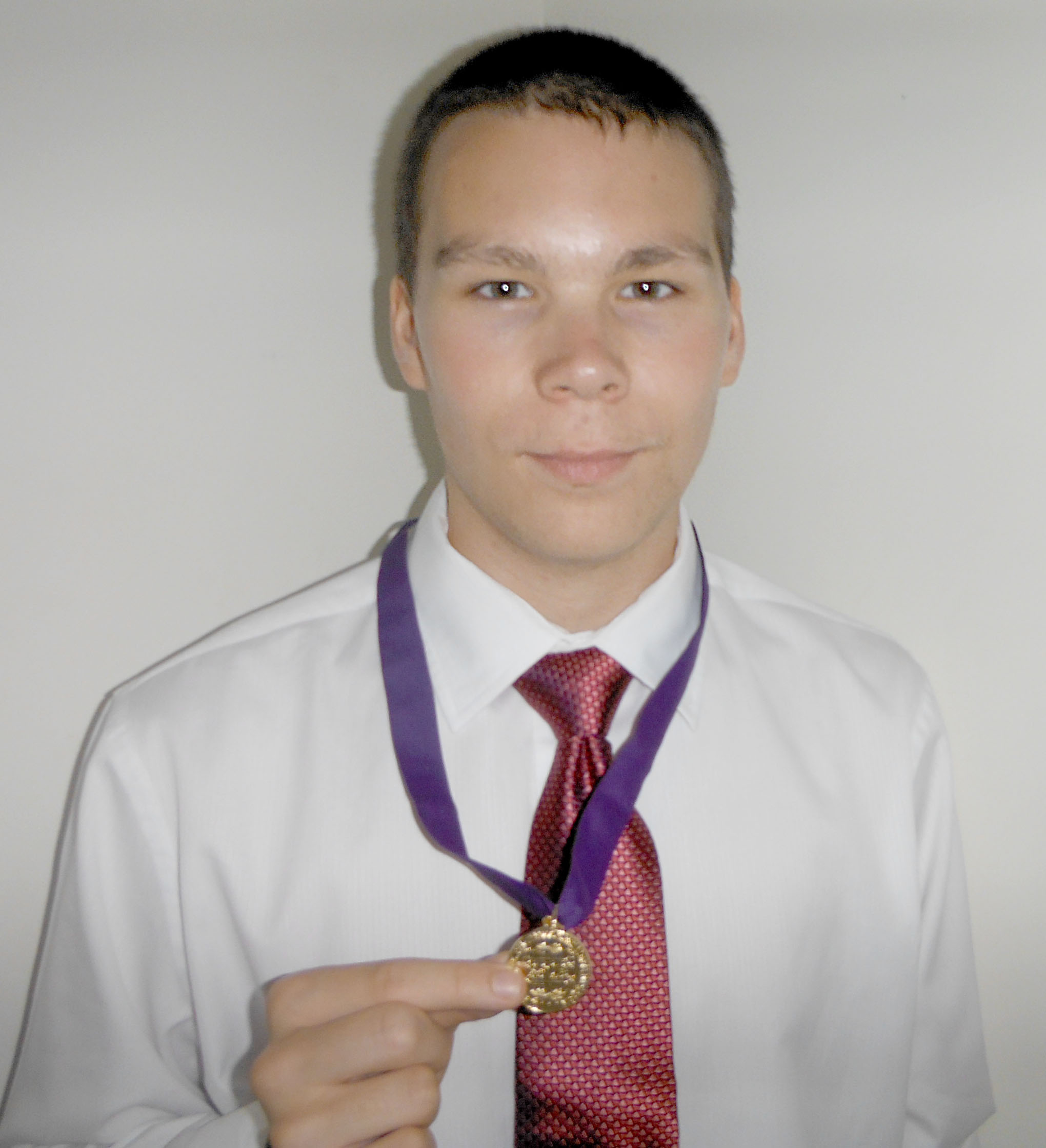 Michael Wins Gold Medal for 2014 National Latin Exam