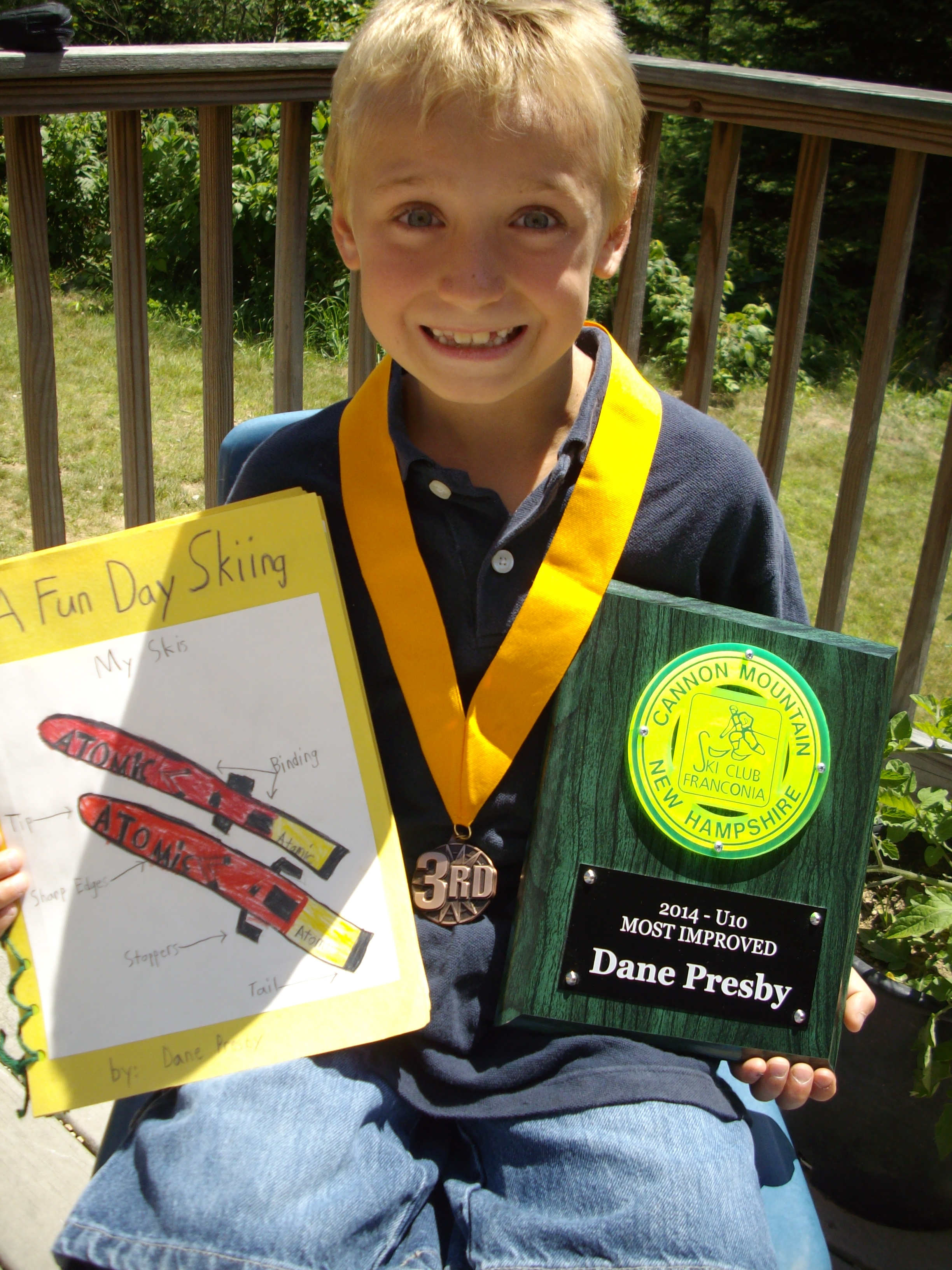 Dane Wins 3rd Place in PBS Kids Writer's Contest