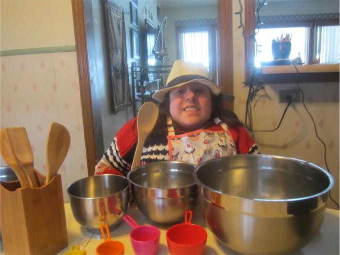Gianna Creates Latex-Allergy Friendly Cookbook