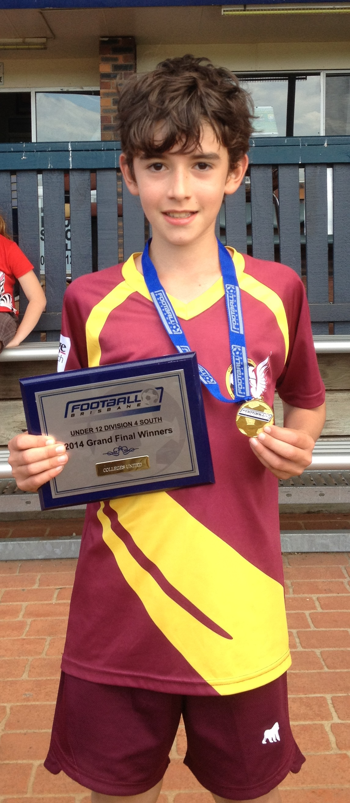 Thomas Scores in Soccer Grand Final, Australia