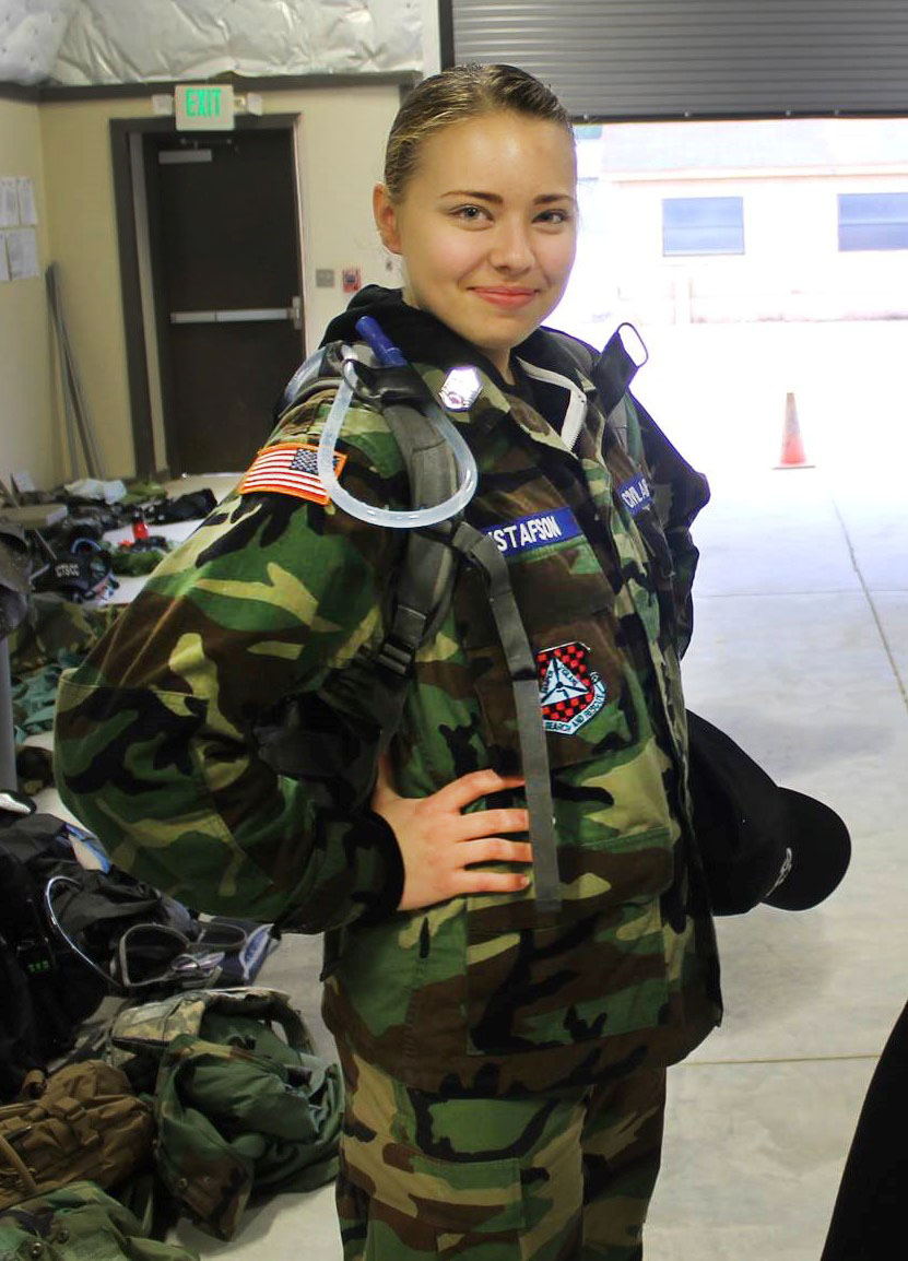 Taryn Makes Civil Air Patrol Records