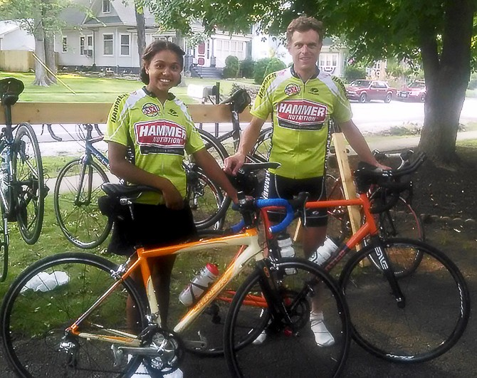 Mary Rides 200 Miles in 12hr Bike Race