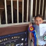 Faith Wins Grand Championship in Training Level Dressage
