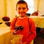 Jacob Wins 3rd Place at Fall Fiber Festival