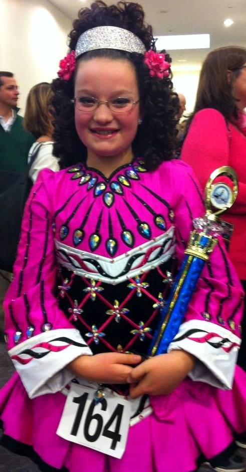 Lexis Wins 2nd in 2014 New England Region Irish Dance Championships