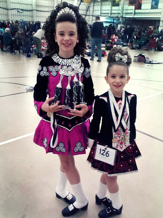 Brigid & Karen Compete in Culkin Feis Irish Dance Competition