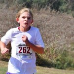 Emma Wins 1st Place in Her Age Division of USATF Junior Olympic Cross Country Championship