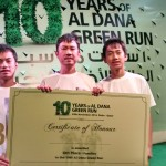 De Los Reyes Family Places 6th in 3Km Marathon