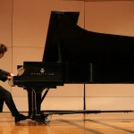 Jarrett Graduates with Master in Music and Works as Organist