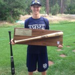 Isaac Earns World Series Batting Champion Title for 18U Summer Baseball Team