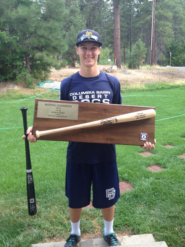 Isaac Earns World Series Batting Champion Title for 18U Summer Baseball Team