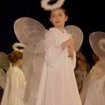 Anna Debuts as Angel in 'The Nutcracker' Ballet