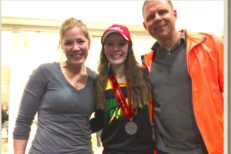 Caroline Places 2nd in Junior Olympics Cross Country Nationals