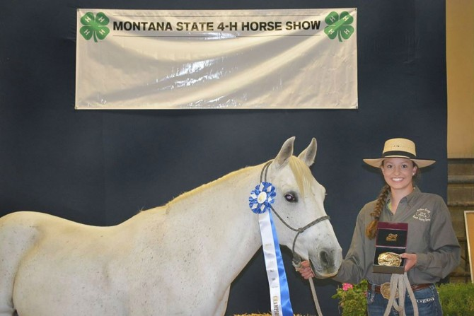 Annie Wins State Champion in Working Ranch Horse level 3 & 4