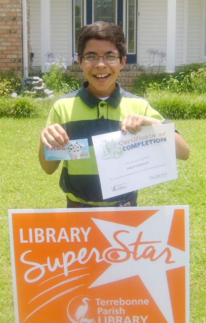 Library Declares Phillip Reading Superstar
