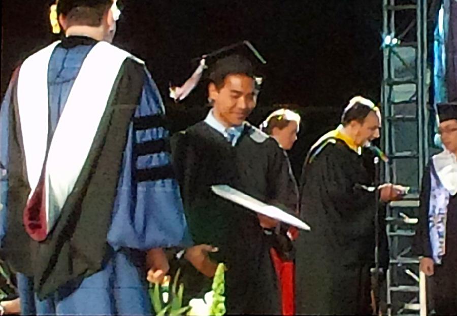 Mike Graduates from Colgate University Class 2015.