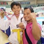 Elijah Wins 1st Place in International Taekwondo Championship