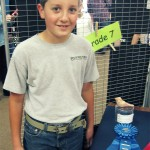 "Hugh Wins 1st Place in 3D ""Young at Art"" Competition"