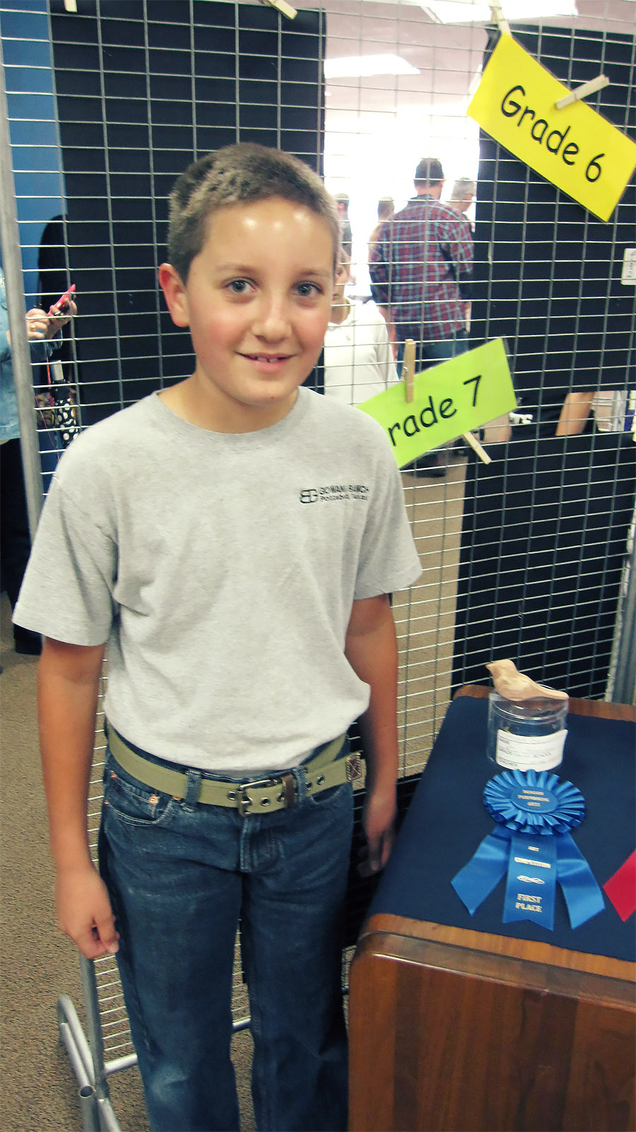 """Hugh Wins 1st Place in 3D """"Young at Art"""" Competition"""