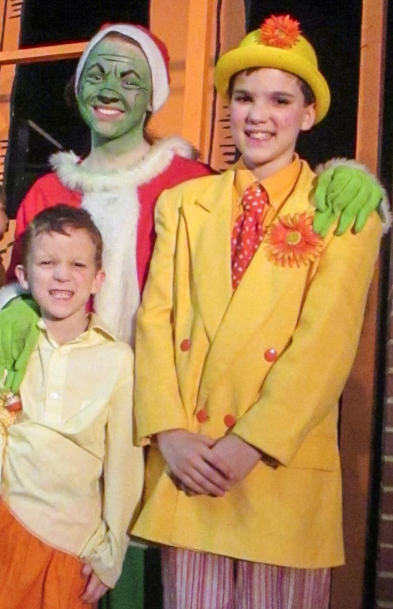Michaela, James & Aidan Perform in 'Seussical'