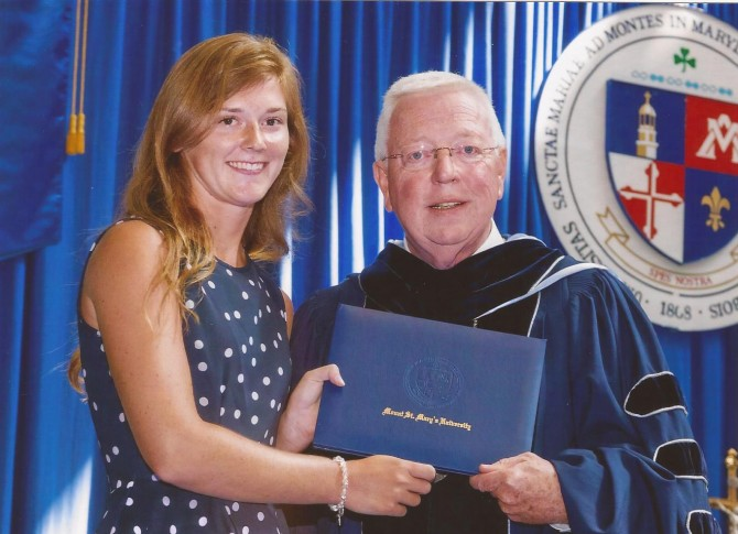Jennifer Receives Prestigious Thomas Merton Award