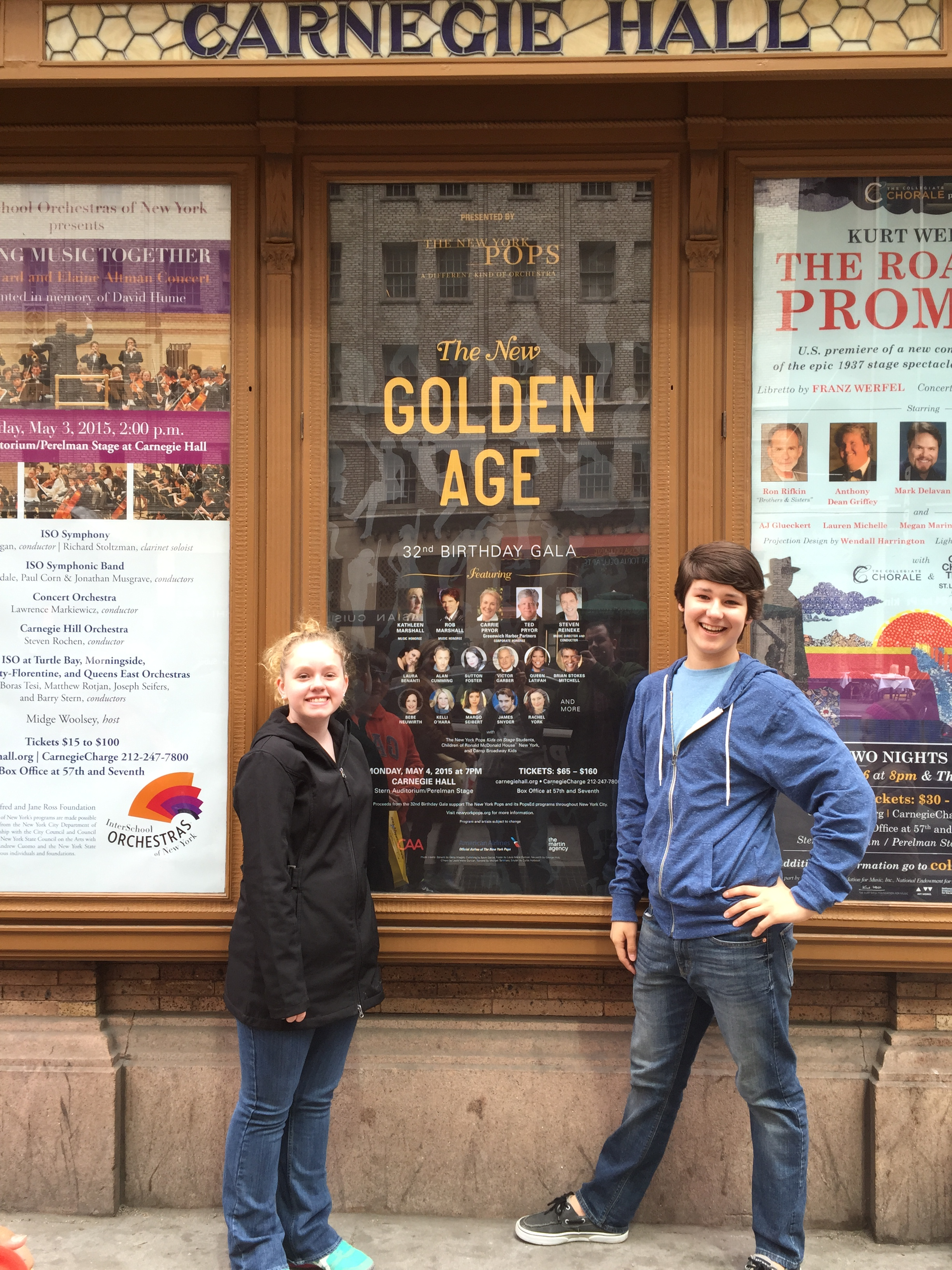 Alex Chosen to Perform with NY Pops at Carnegie Hall