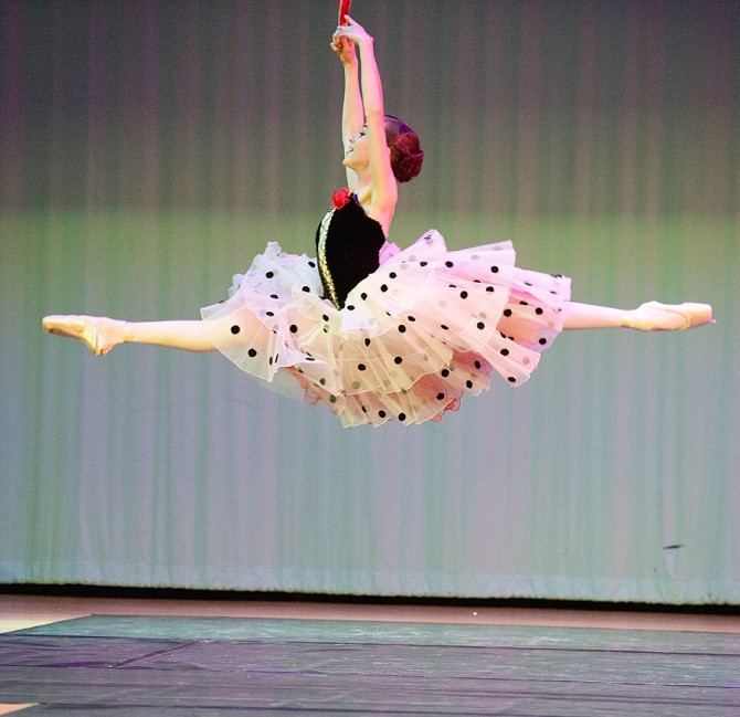 Brigid Named one of World's Top 25 Ballerinas for Ages 12-14