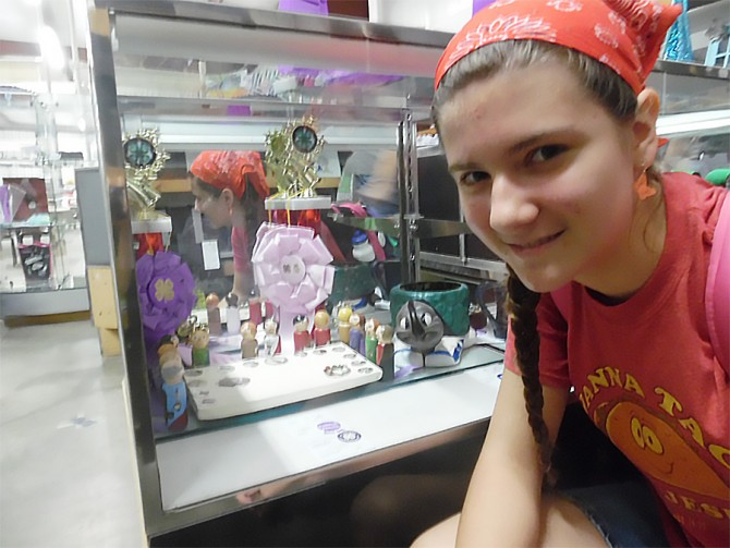 Carmen Awarded Grand Champion for Crafts at Kansas County Fair Visual Arts