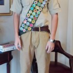 Blake Earns Eagle Scout in Lucedale, MS