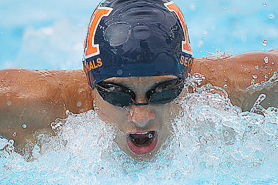 Alex Nominated to USA Swimming Scholastic All-America Team