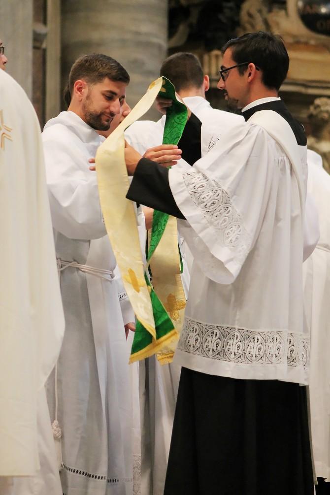 Daniel Ordained Transitional Deacon in Lexington Diocese, KY