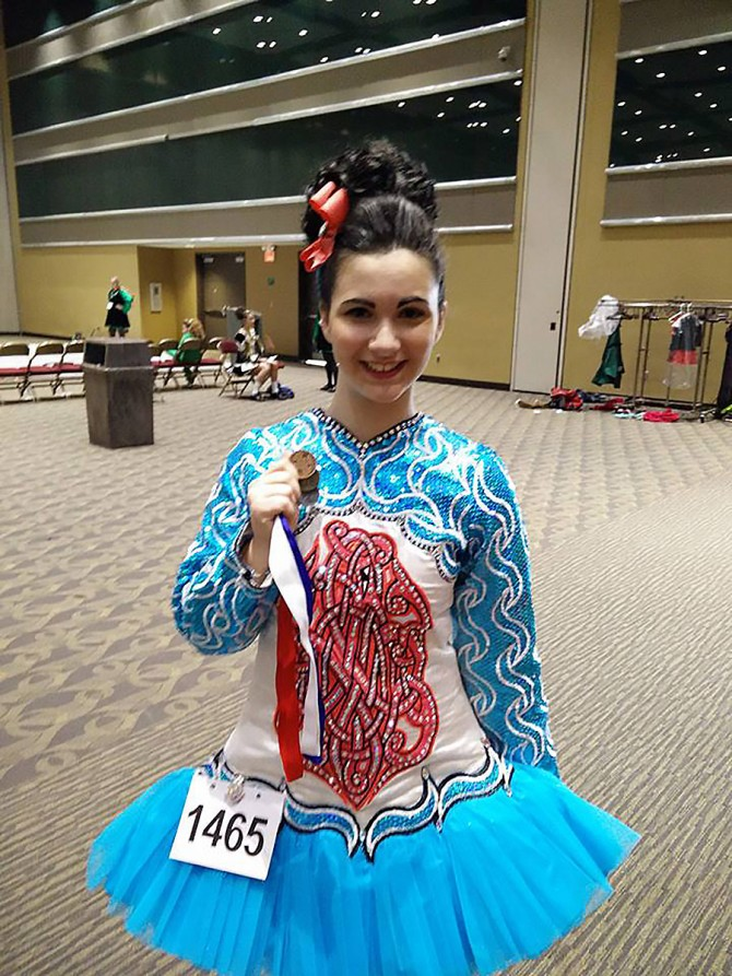 Mary Wins 1st place at the Cincinnati Feis