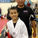 Matthew Achieves Brown Belt In Tae Kwon Do