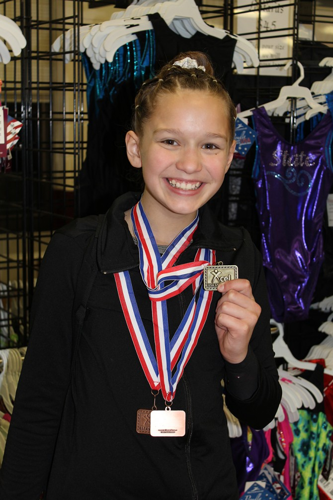 Ann Competes at  WV State Women's Gymnastics Championship
