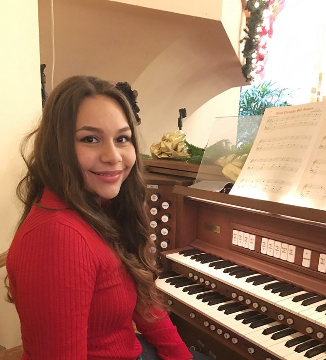 Naya Awarded American Guild of Organists Scholarship
