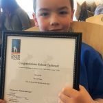 Robert Wins 3rd Place in Poetry Contest - Robbie