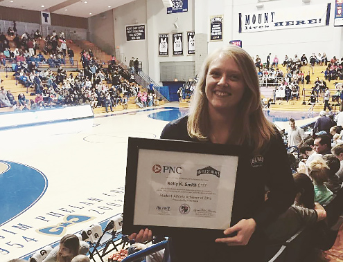 Kelly Recognized by PNC Bank & Mount Athletics